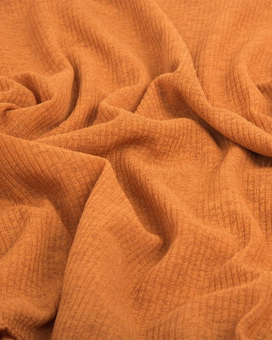 ribbed jersey hijab scarf in amber