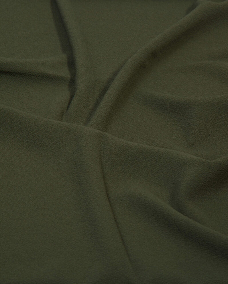 bubble crepe hijab in army