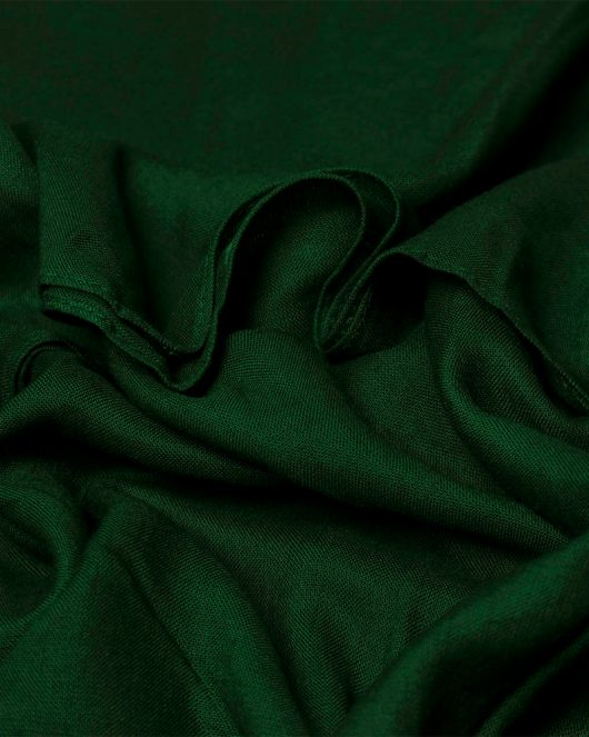 classic rayon scarf in bottle green