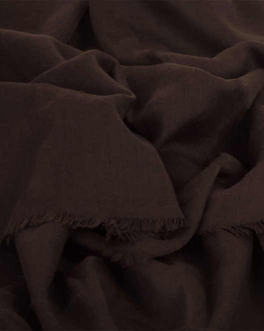 cotton hijab scarf in brownie