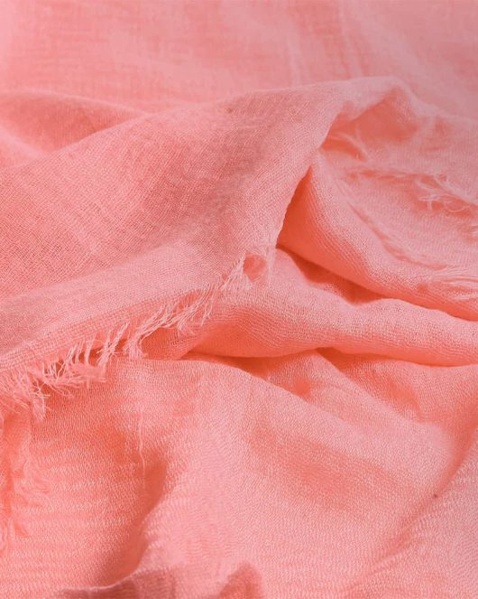 crimp hijab scarf in candyfloss