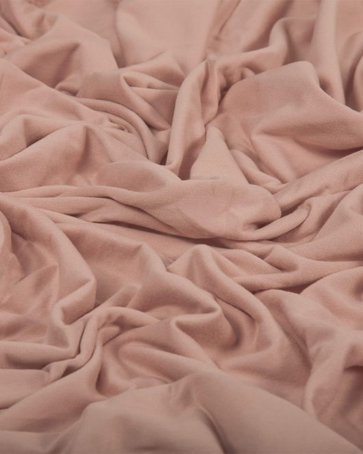cotton jersey hijab in dusky pink