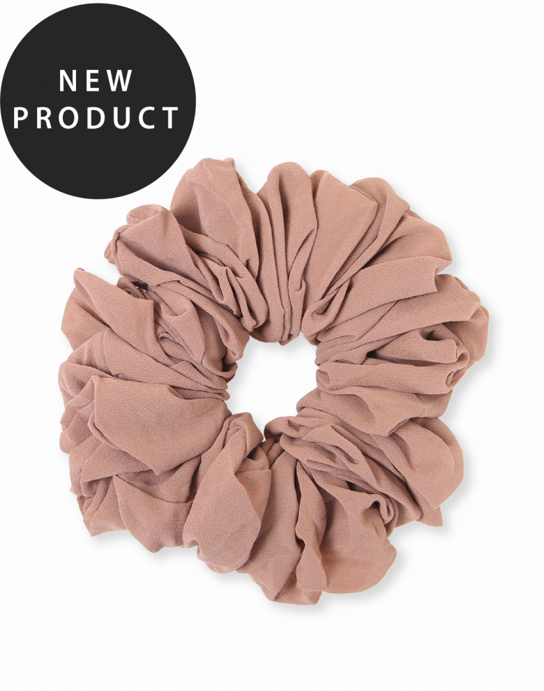 chiffon scrunchie category picture with new product banner