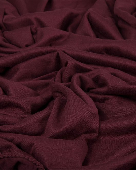 cotton jersey hijab in maroon