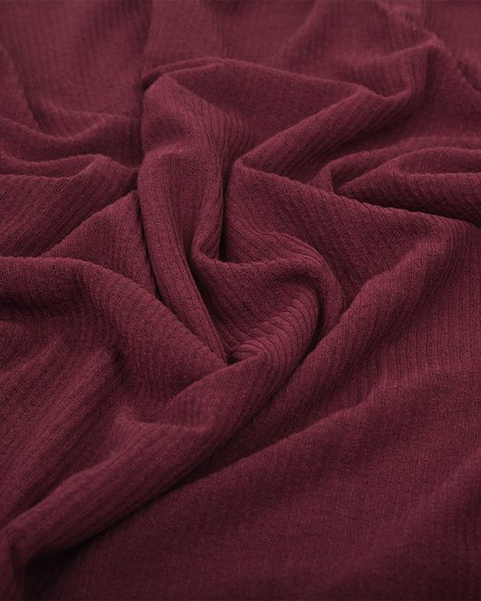 ribbed jersey hijab scarf in maroon