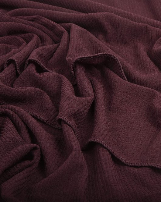 ribbed jersey hijab scarf in mulberry