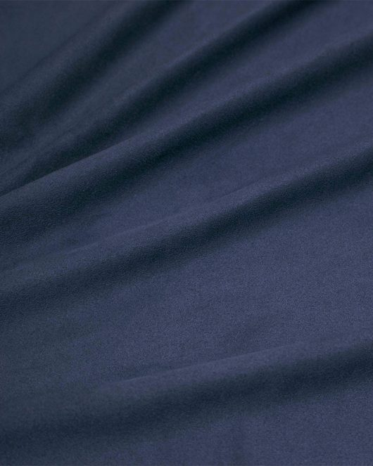 suede hijab scarf in navy
