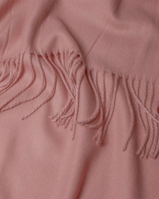cashmere scarf in pink