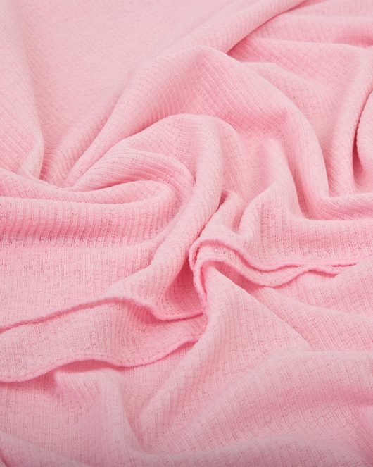ribbed jersey hijab scarf in pink