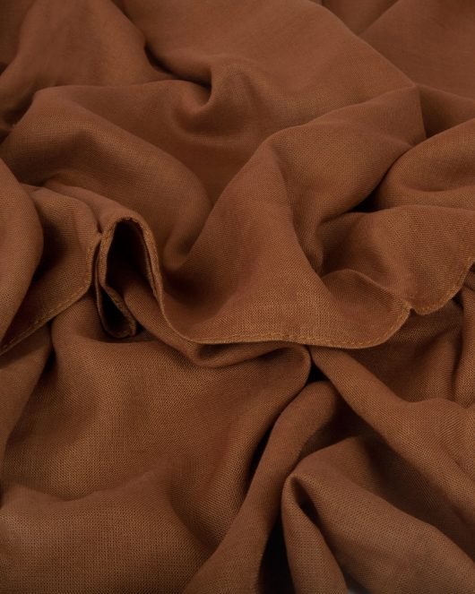 classic rayon hijab scarf in russet
