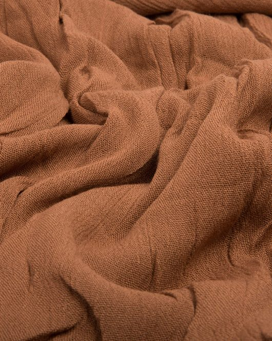 rayon hijab scarf in russet